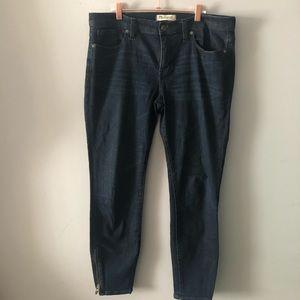 Madewell Jeans - Madewell Skinny Skinny Zip Jean Edgewater Wash